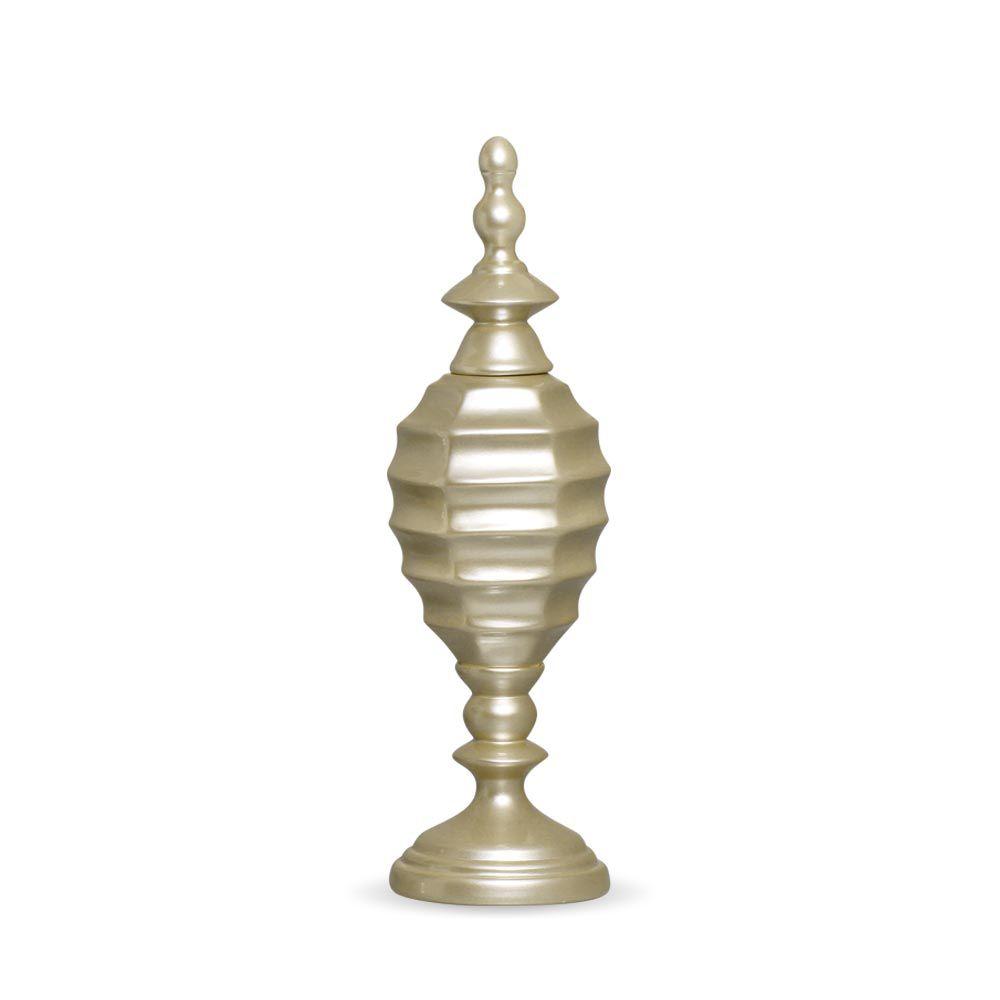 Pote Adhara M Decoração Em Cerâmica Fendi Chrome
