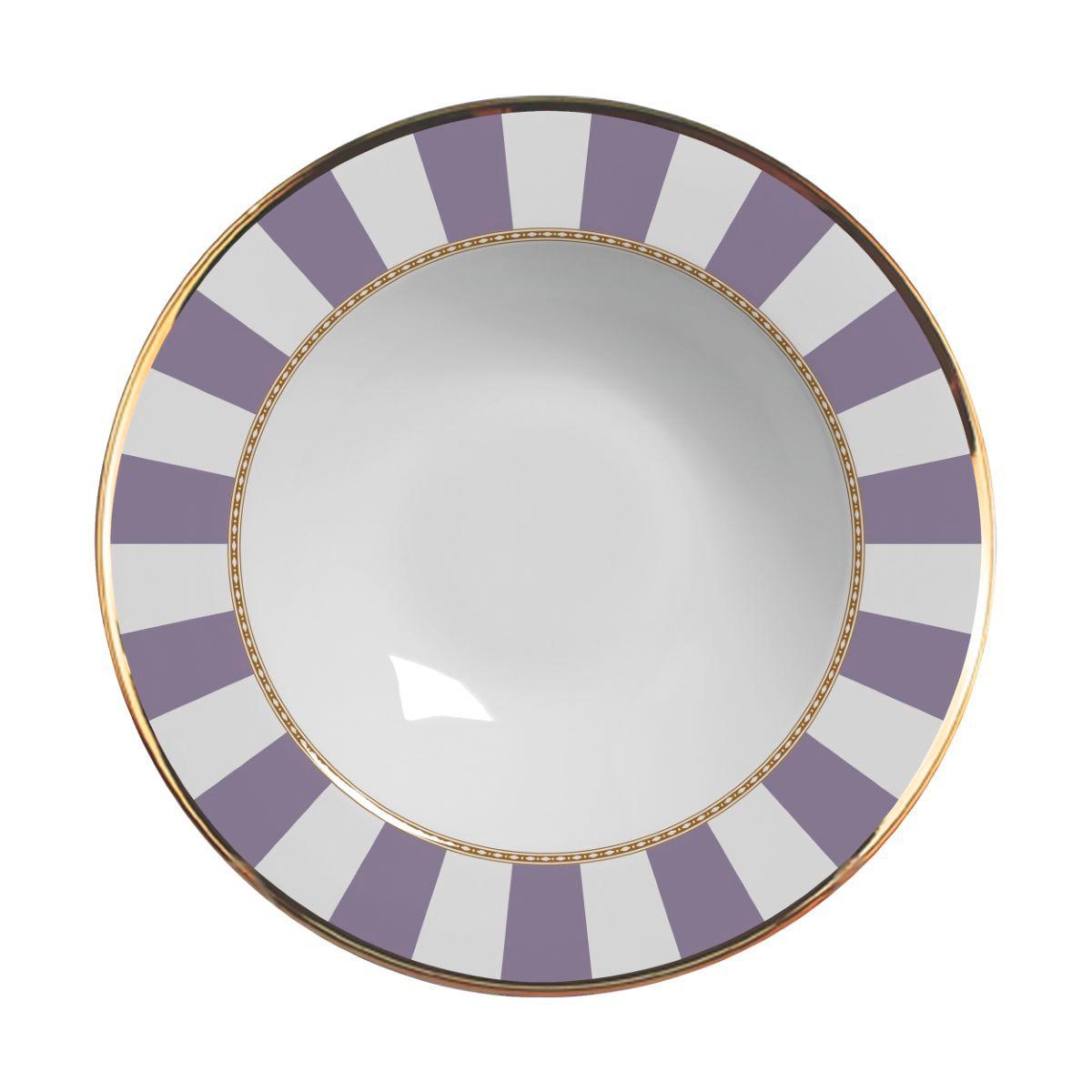 Prato Fundo Lavender Strip