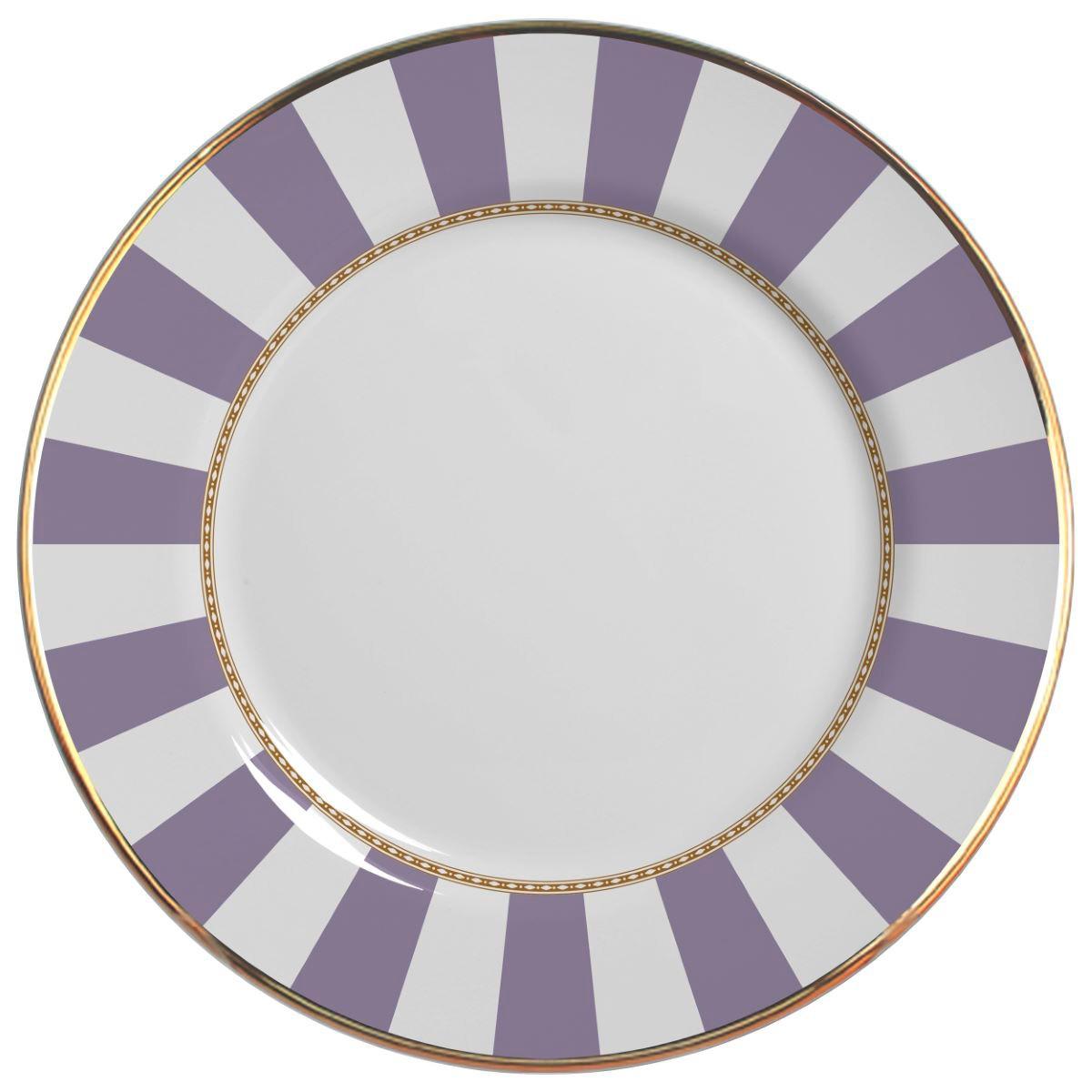 Prato Raso Lavender Strip