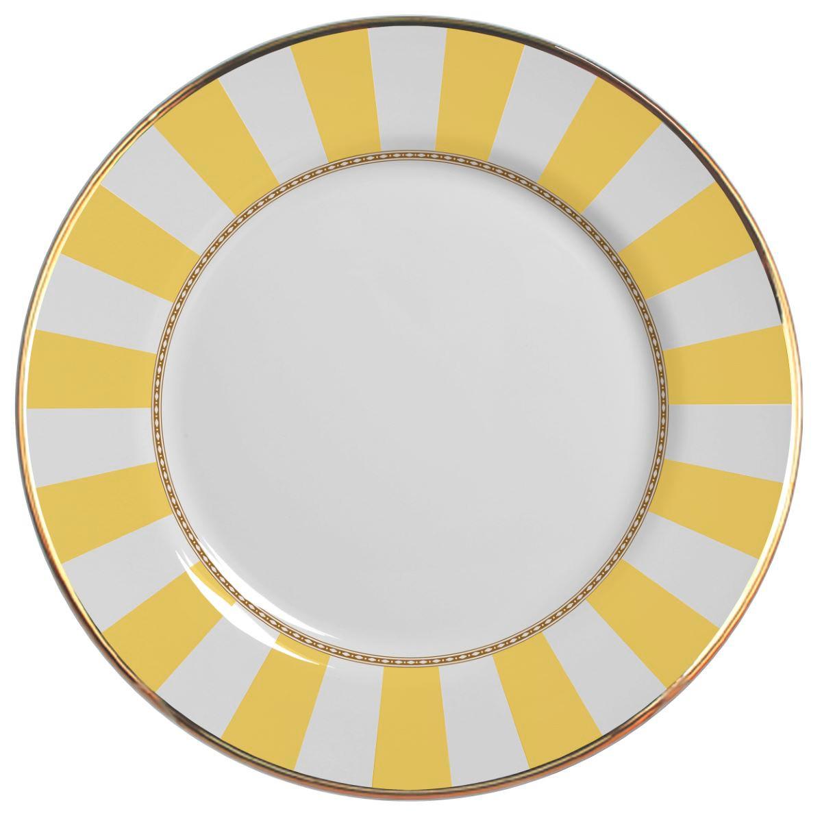 Prato Raso Yellow Strip