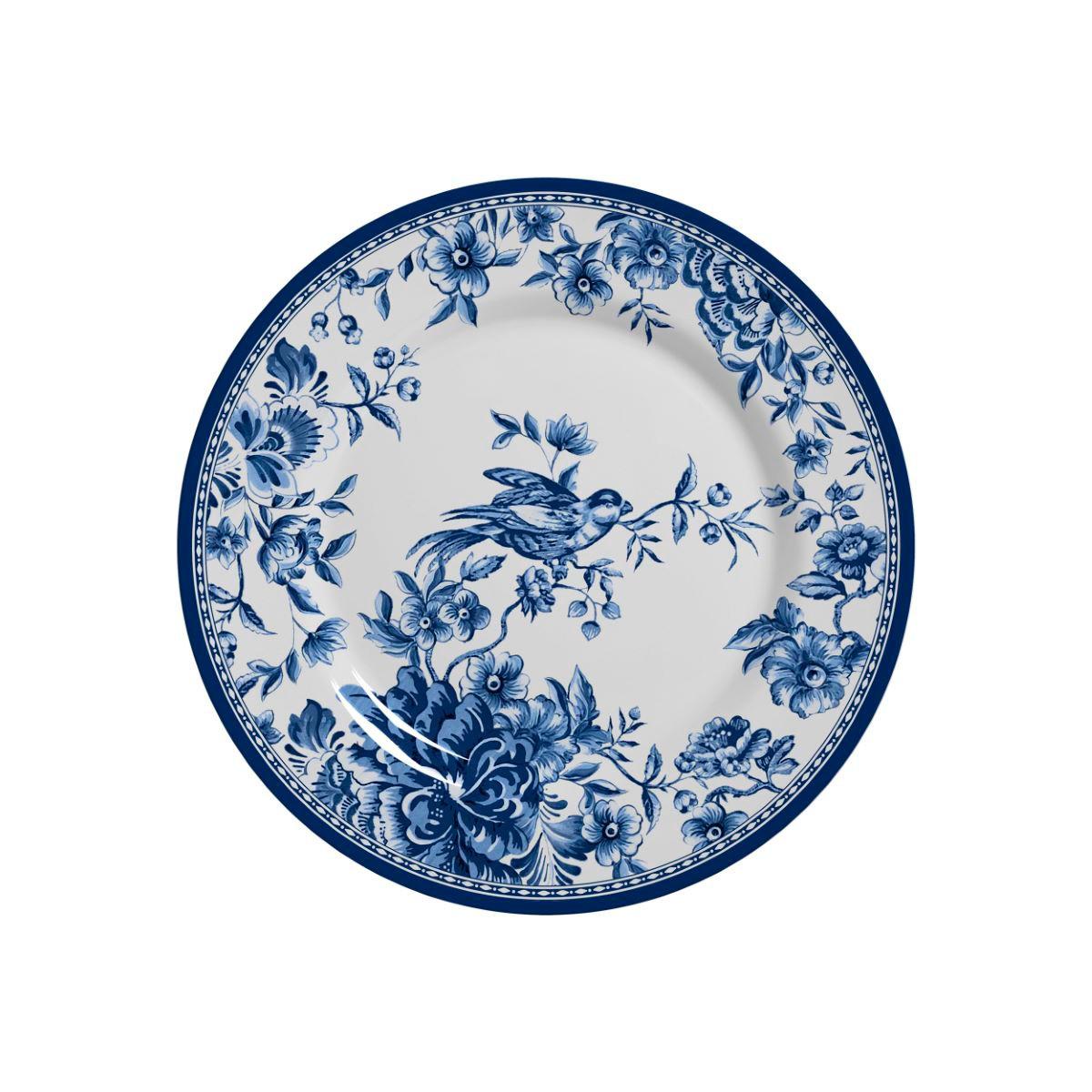 Prato Sobremesa Chinese Garden Cerâmica Alleanza - 6 Peças
