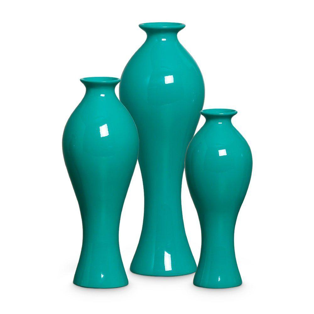 Trio Vaso Califórnia Tiffany