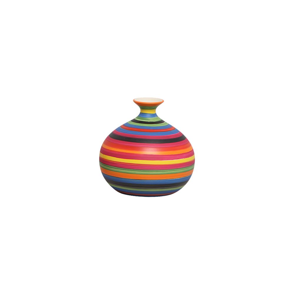 Vasinho Decorativo Maia M Decoração Cerâmica Colors