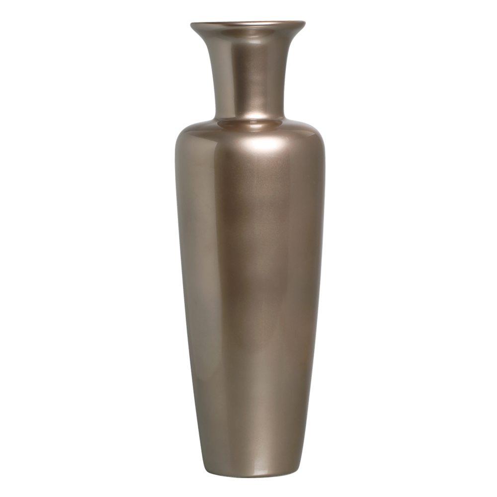 Vaso de Chão Madri Luxo Decoração Cerâmica Dark Fendi