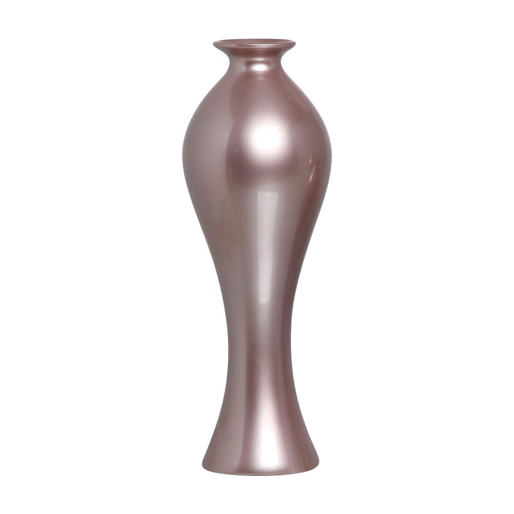 Vaso Decorativo Califórnia G Decoração Cerâmica Lilás