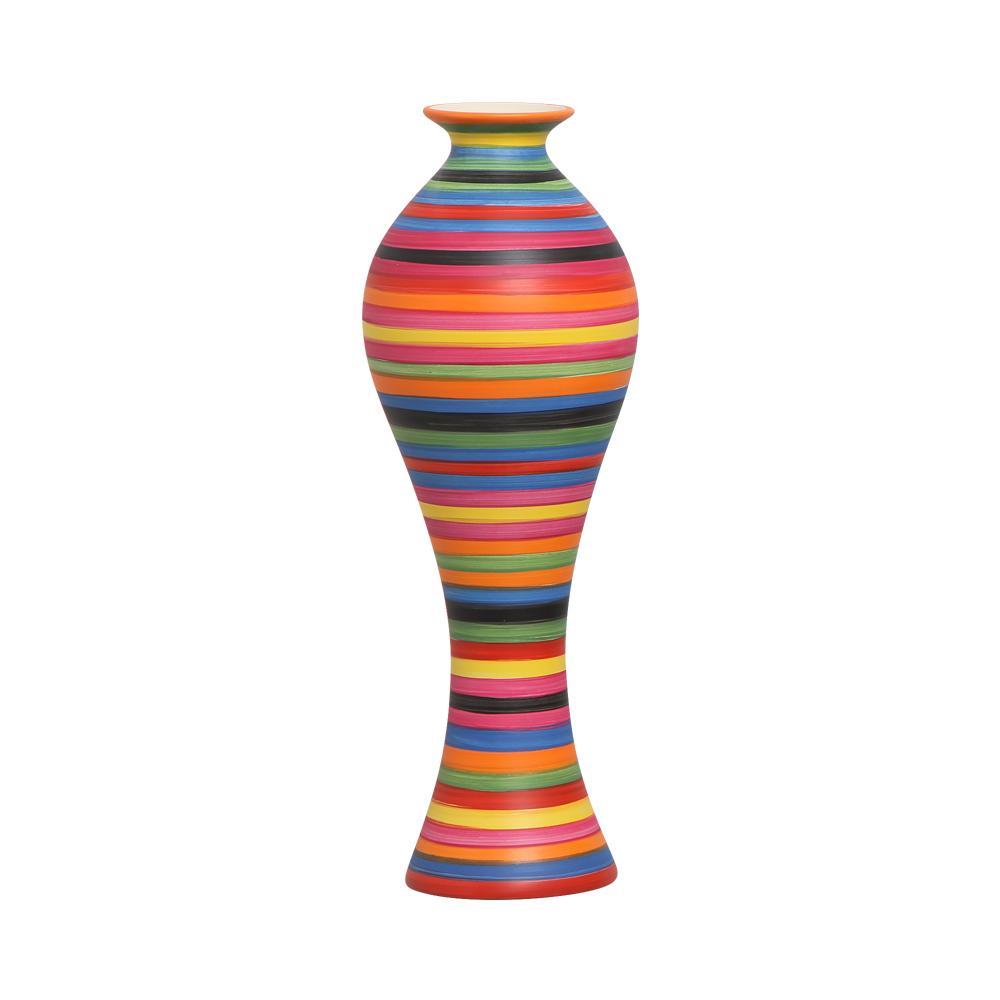 Vaso Decorativo Califórnia G Decoração Em Cerâmica Colors