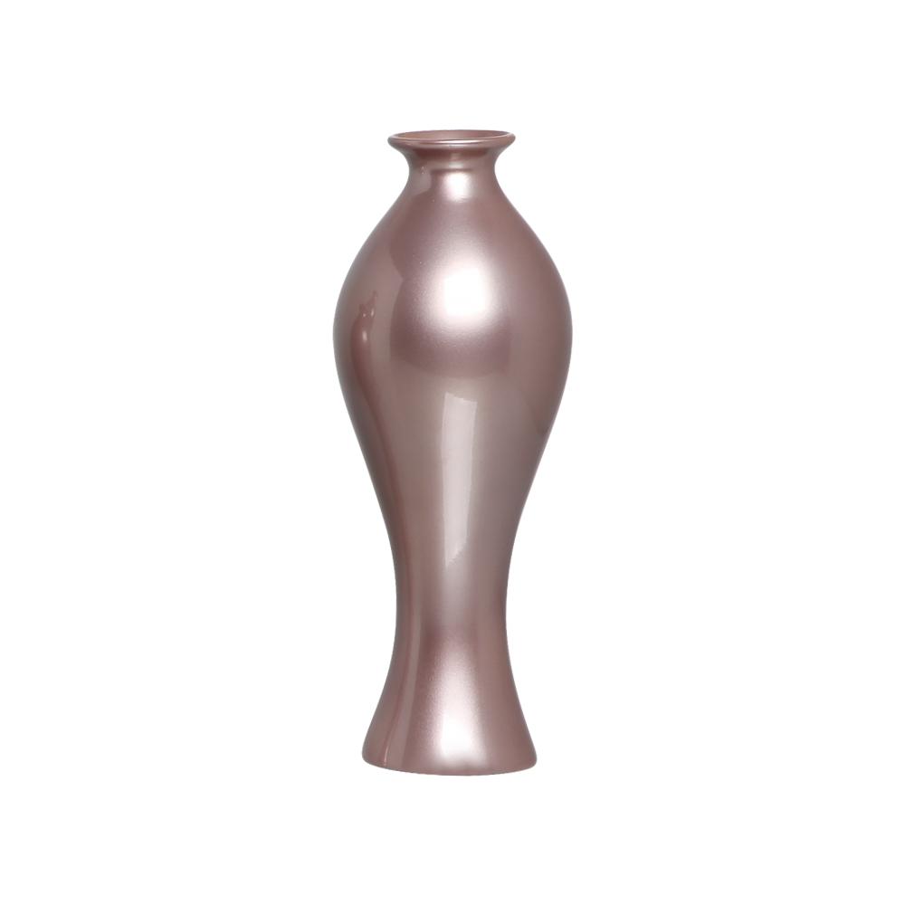Vaso Decorativo Califórnia M Decoração Cerâmica Lilás