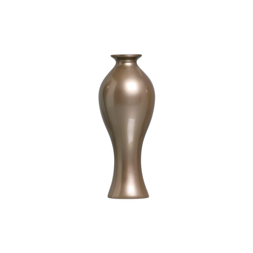 Vaso Decorativo Califórnia P Decoração Cerâmica Dark Fendi
