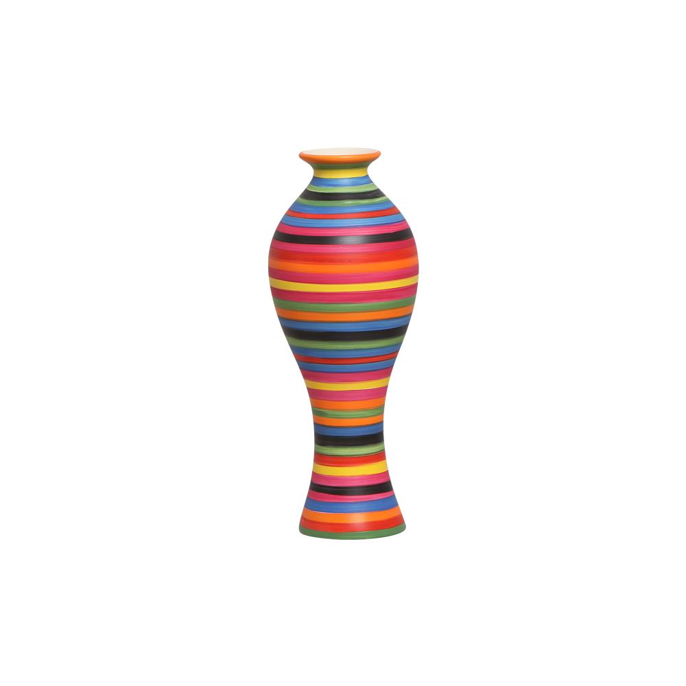 Vaso Decorativo Califórnia P Decoração Em Cerâmica Colors