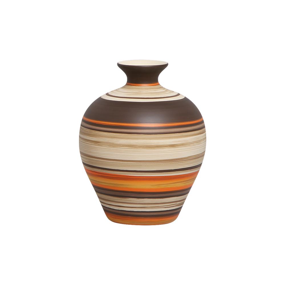 Vaso Decorativo Topázio P Decoração Em Cerâmica New Sunset
