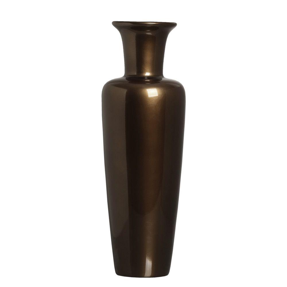 Vaso Madri Decoração Em Cerâmica Capuccino