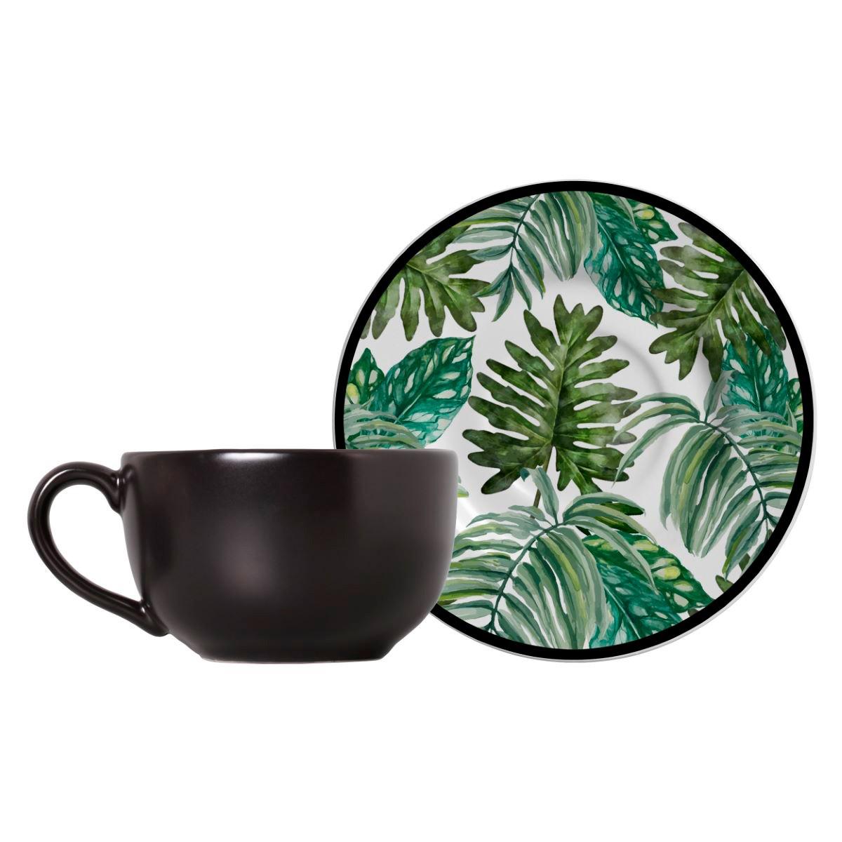 Conjunto de Xícara de Chá + Píres Tanzania