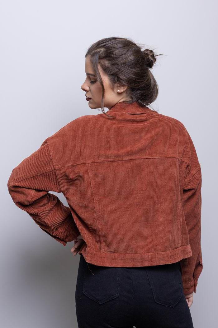 Jaqueta Veludo - Telha - Casual Collection