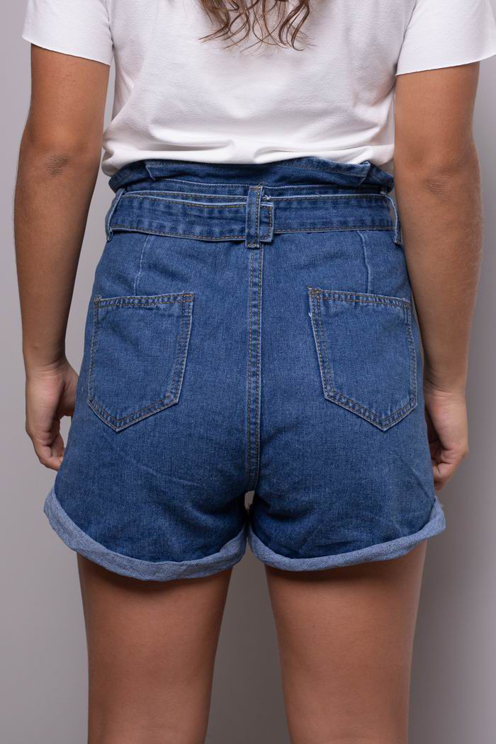 Short - Jeans Escuro
