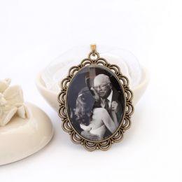 Pingente Relicário Para Noiva Com Foto Personalizada