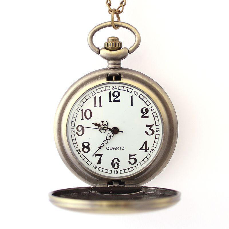 Colar com Relógio Ouro Velho