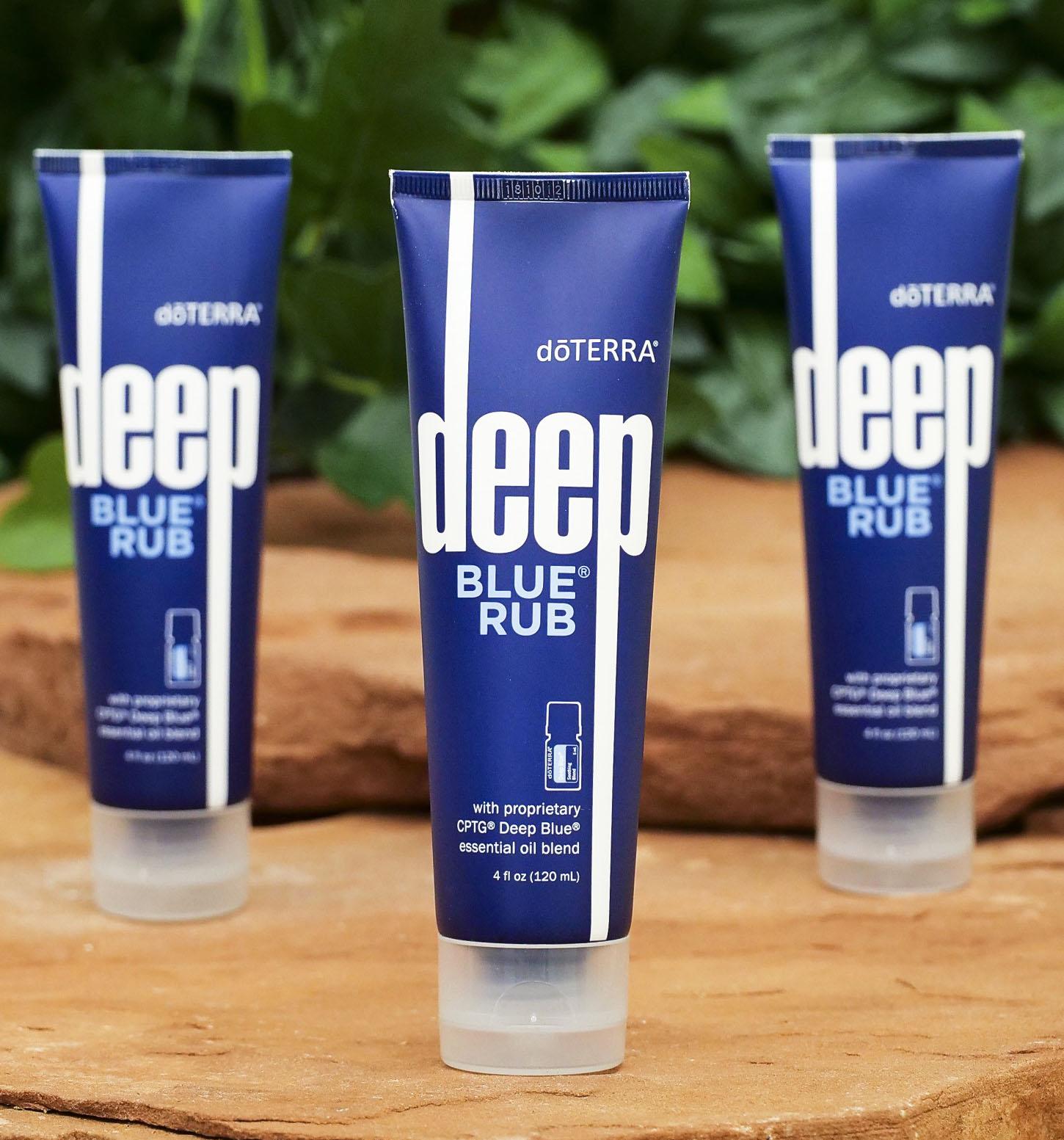 Creme de Massagem doTERRA Deep Blue Rub