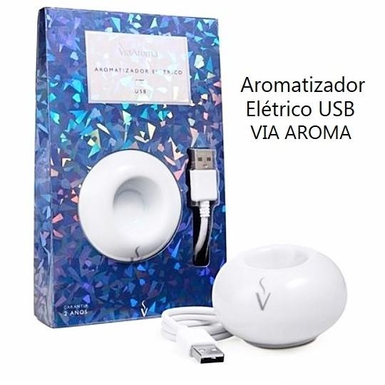 Difusor Aromatizador Elétrico USB