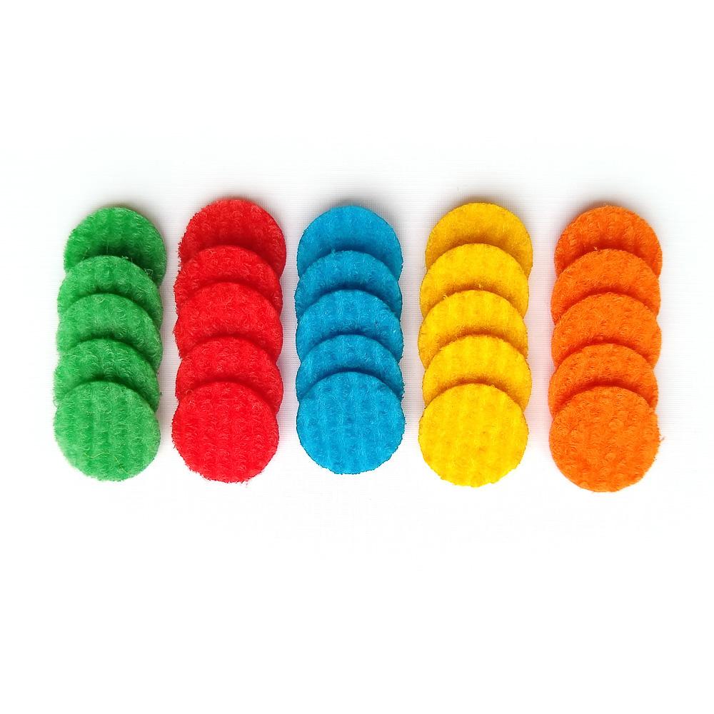 Feltro Para Difusor e Óleo Essencial - Kit com 25 Pads 13mm