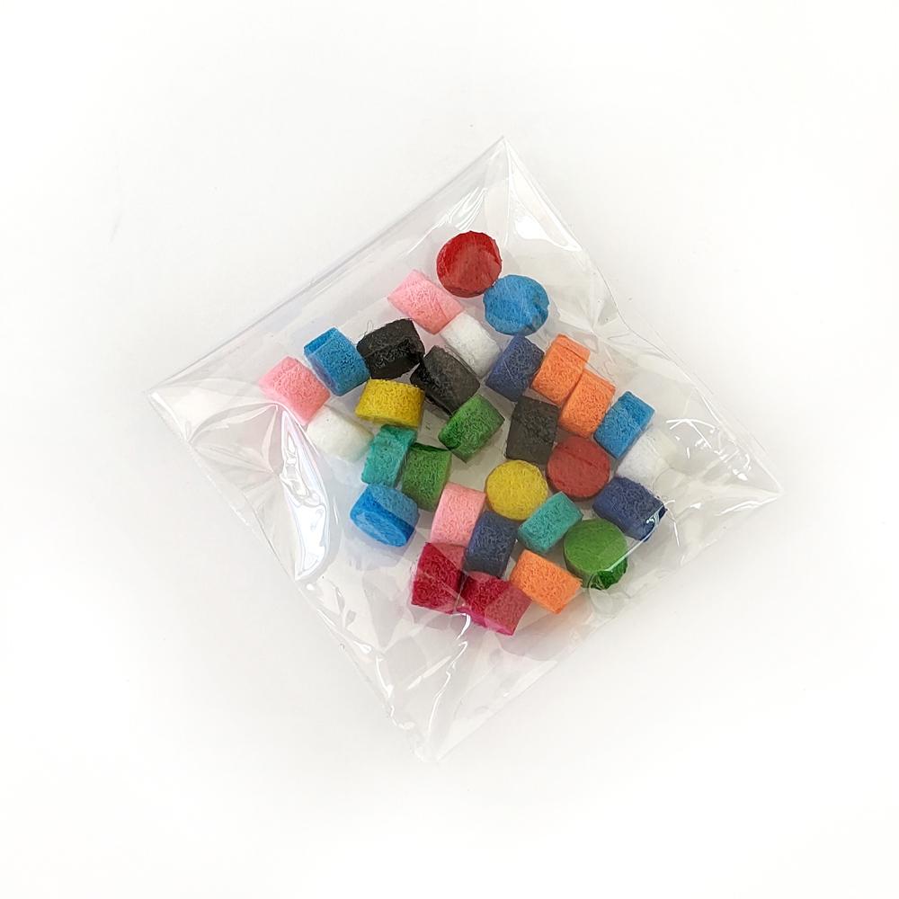 Feltro redondo Para Difusor tubular - Kit com 30