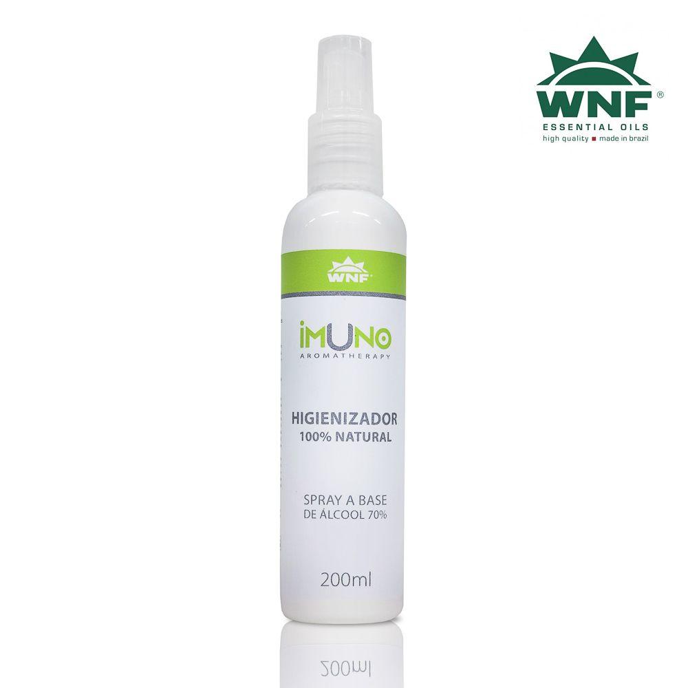 Imuno Aromatherapy WNF Higienizador a Base de Álcool 70°GL - 200ml