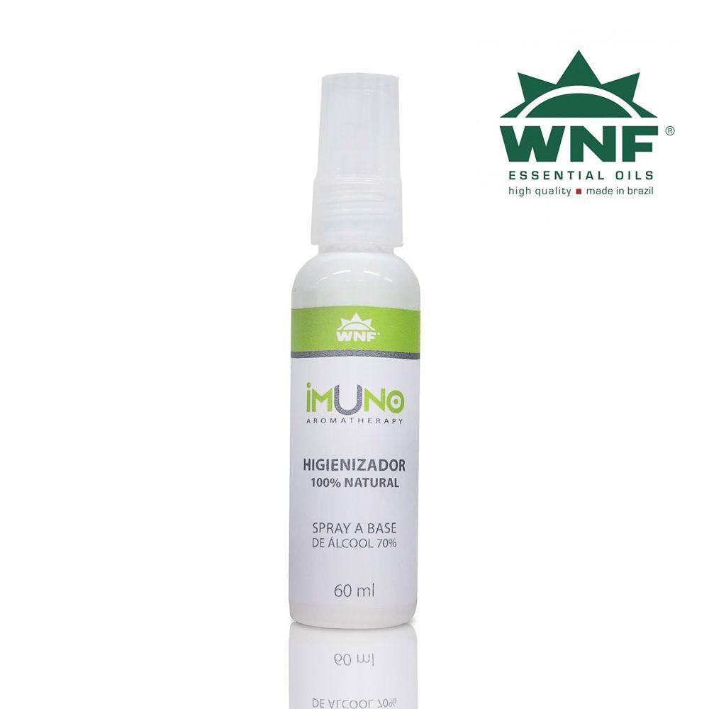 Imuno Aromatherapy WNF Higienizador a Base de Álcool 70°GL - 60ml