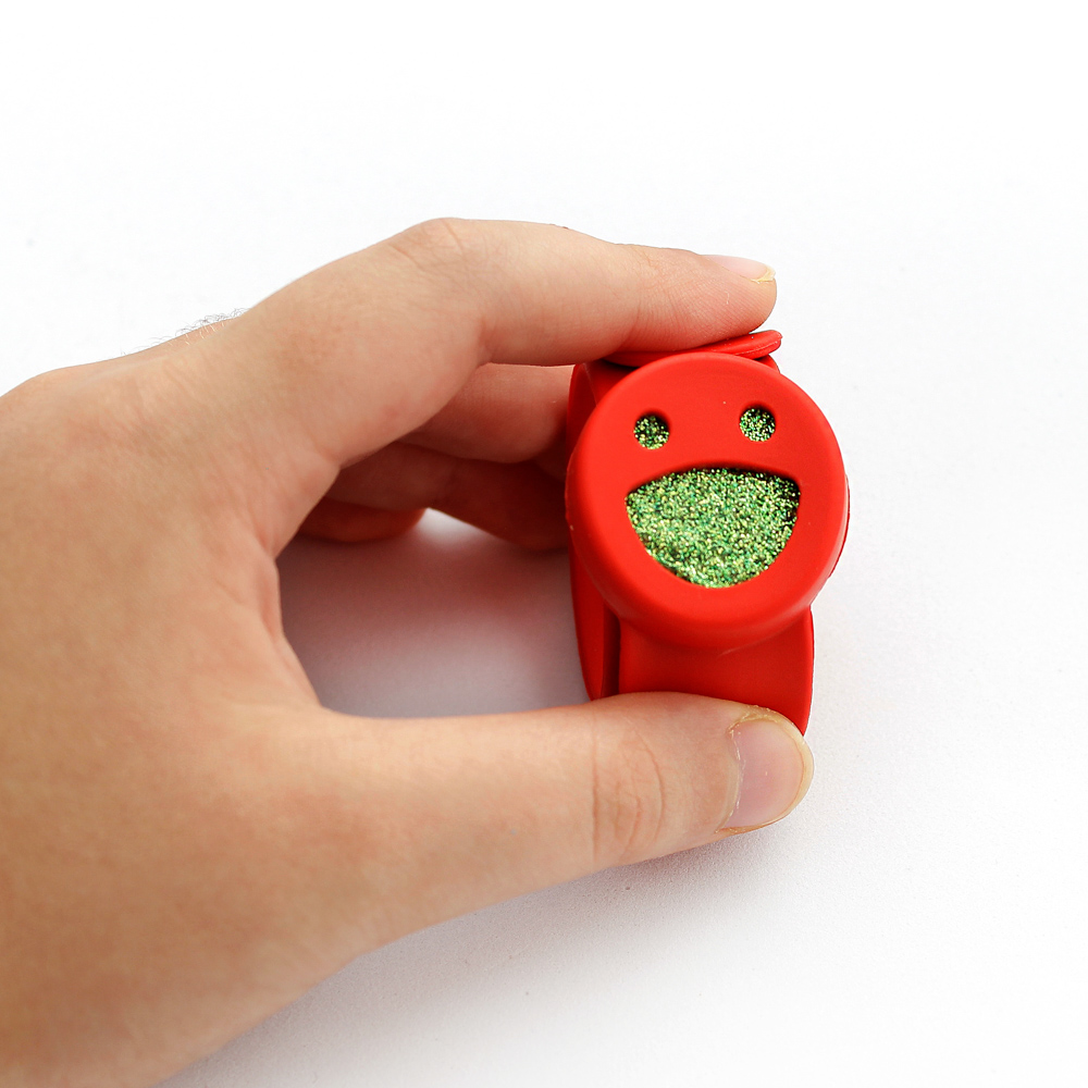 Pulseira Difusor Pessoal para Aromaterapia Infantil ou Adulto Smile