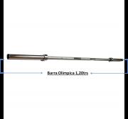 Barra Musculação Olimpica 1,20Mtrs