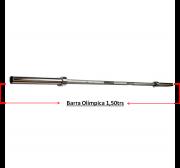 Barra Musculação Olimpica 1,50Mtrs