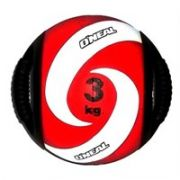 Medicine Ball Borracha com Pegada 03KG
