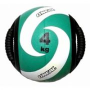 Medicine Ball Borracha com Pegada 04KG