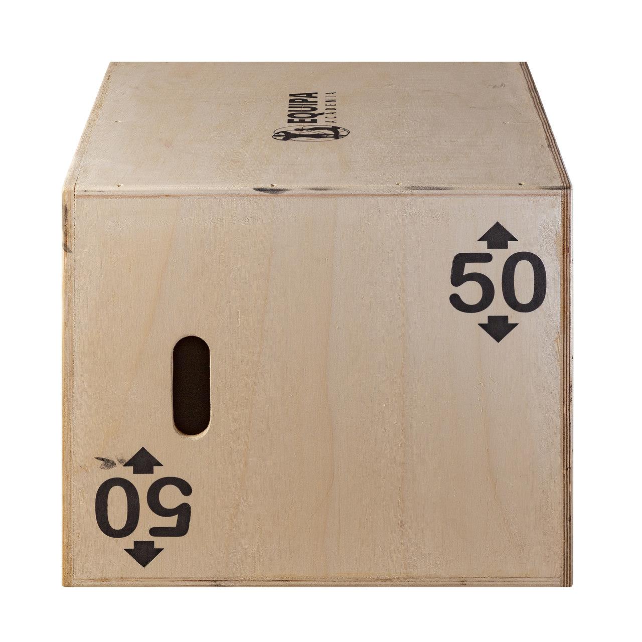 Caixa de Salto Pliomérico 3x1 Oficial 75x60x50