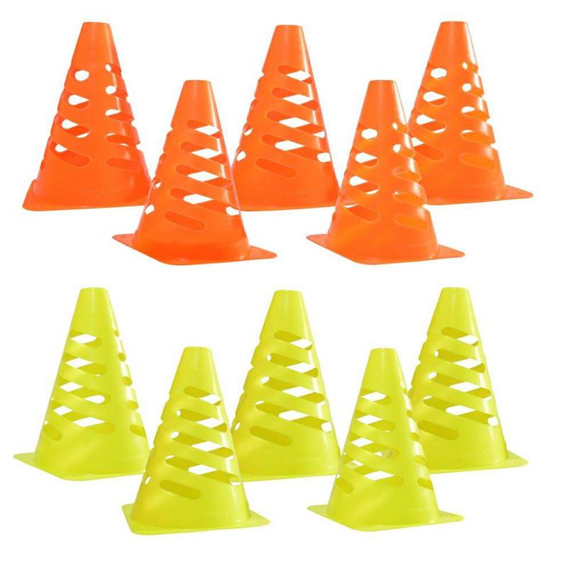 Cone 24cm Flexível Kit com 10Pçs