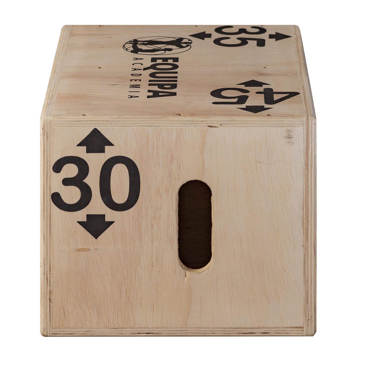Caixa de Salto Pliomérico Pequena 3x1 45x35x30