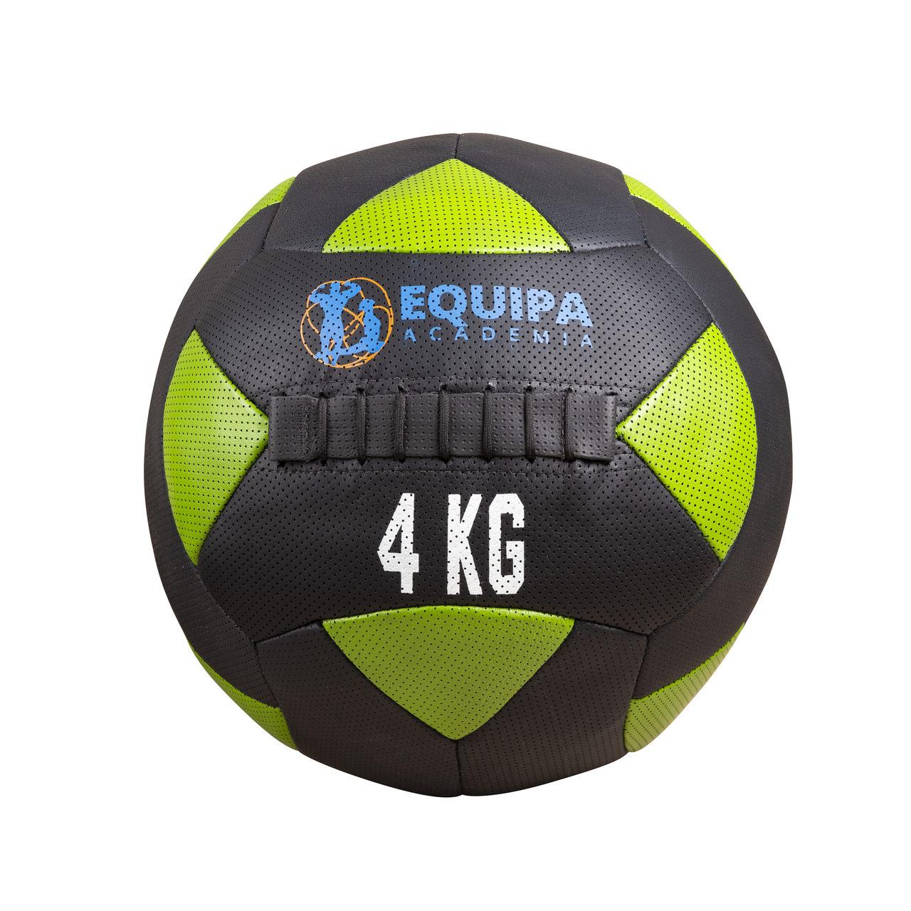 Kit Corda Naval 40MM 10Metros + Wall Ball Couro 04KG