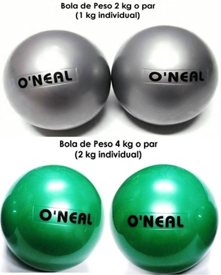 Kit - Toning Ball - 2 Pares ( 1kg / 2kg )