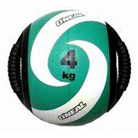 Medicine Ball Borracha com Pegada 04KG