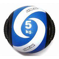 Medicine Ball Borracha com Pegada 05KG