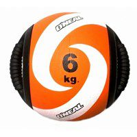 Medicine Ball Borracha com Pegada 06KG