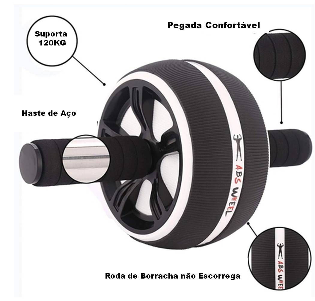 Power Well - Roda Abdominal ABS PRO