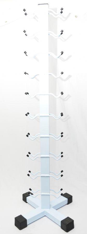 Suporte de Halteres em Torre (Capacidade 10 pares)