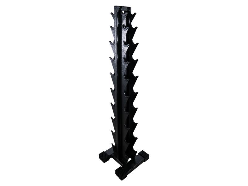 Suporte de Halteres em Torre Craquelada  (1 a 10kg)