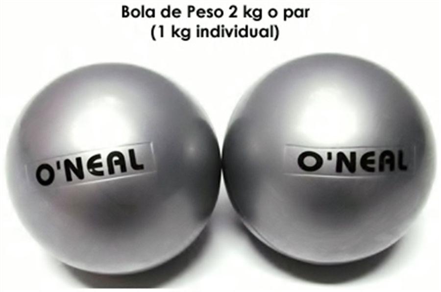 Toning Ball 01kg - Par (2kg)