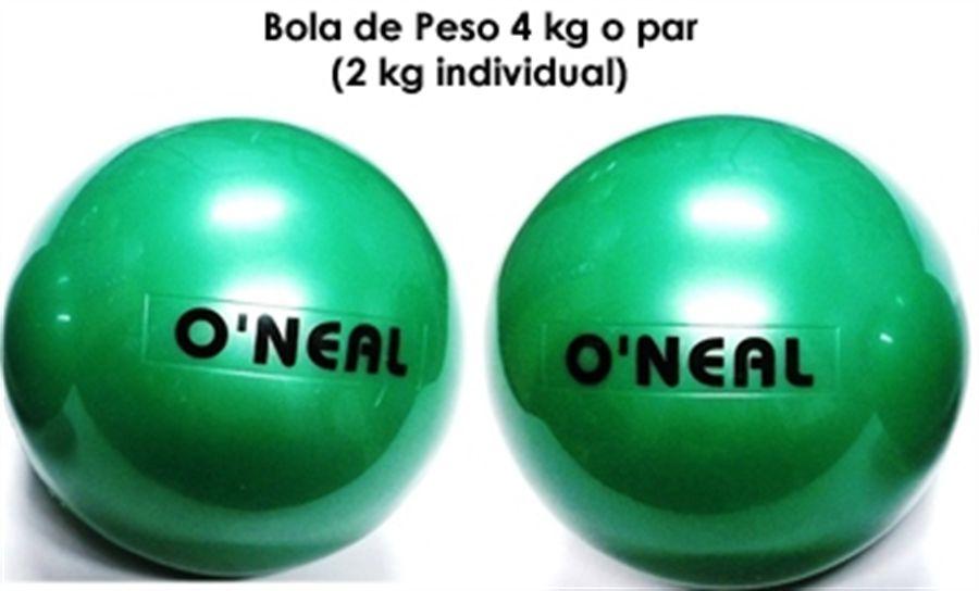 Toning Ball 02kg - Par (4kg)