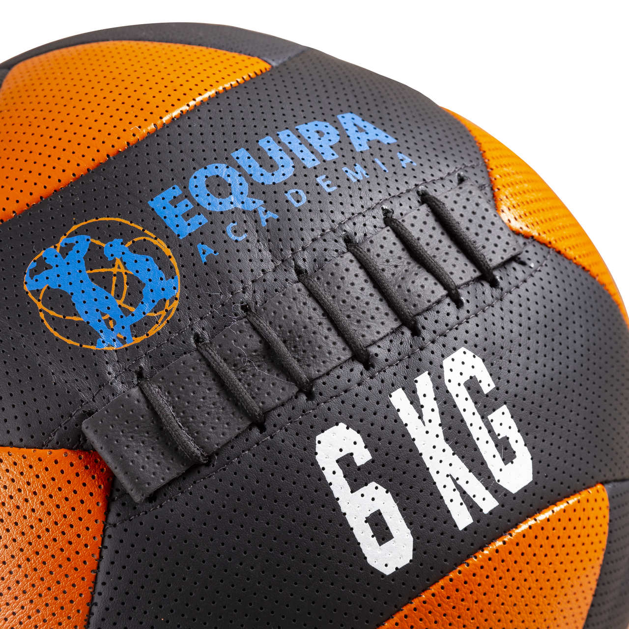 Wall Ball Couro 06KG + Corda Naval 40MM 05Metros