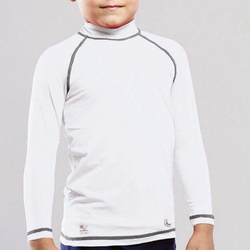Camiseta infantil unissex proteção solar uv 50+ dry lupo