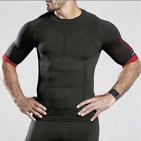 Camiseta masculina cycle bike pedal porta garrafa lupo Pr