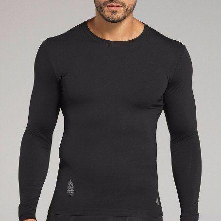 Camiseta térmica proteção solar uv manga longa lupo
