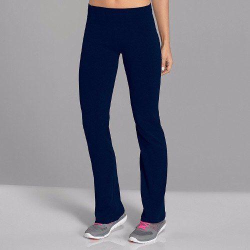 Calça feminina lupo reta fitness pilates ginástica