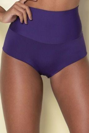 Calcinha Cintura Alta Compressão Sem Costura Hot Pant